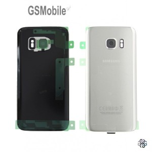 Samsung S7 Galaxy G930F Battery cover silver original