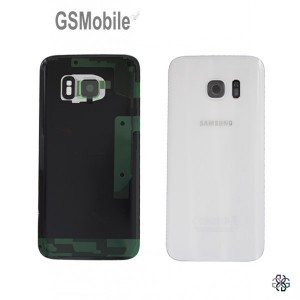 Tampa traseira Samsung S7 Galaxy G930F Branco Original