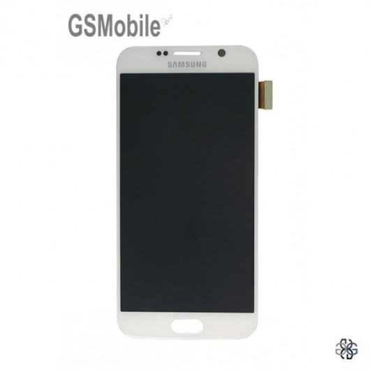 Display Samsung S6 Galaxy G920F White - Original