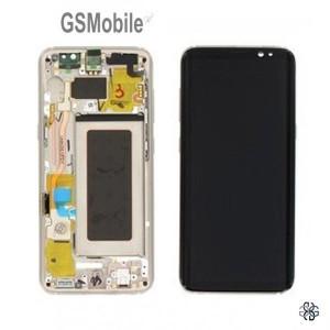 Display for Samsung S9 Galaxy G960F Gold - Original