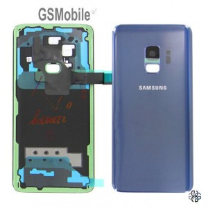 Samsung S9 Galaxy G960F Battery cover blue - original