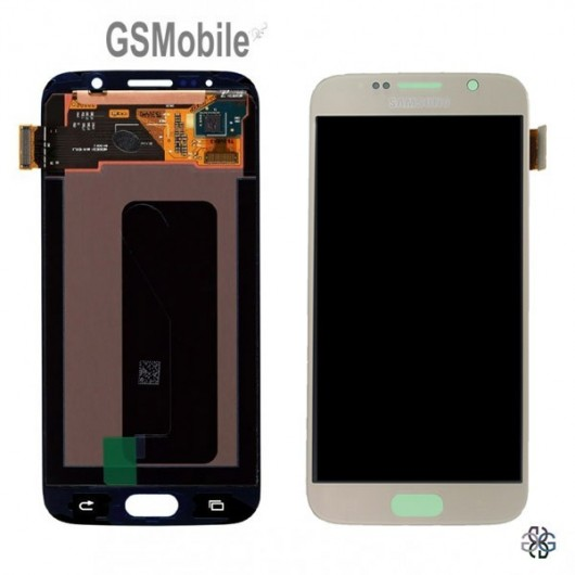 Spare parts Samsung S6 Galaxy G920F - display for Samsung G920F S6