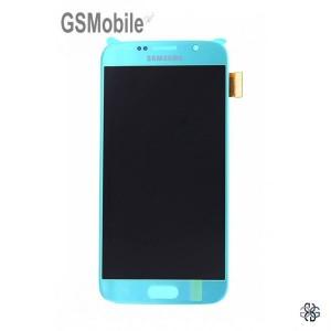 Display Samsung S6 Galaxy G920F Blue - Original