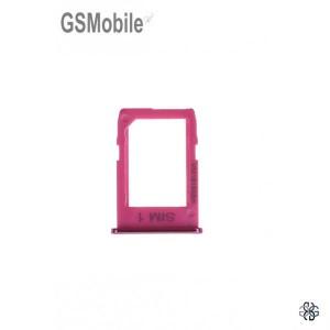 Sim card tray Samsung J4 Plus Galaxy J415F Pink - Original