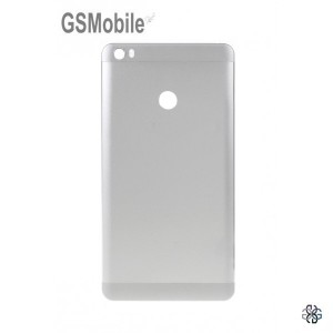 Tampa traseira para Xiaomi Mi Max Prateada