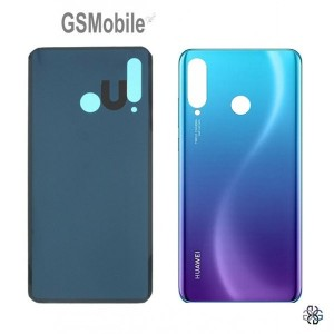 battery cover huawei p30 lite blue