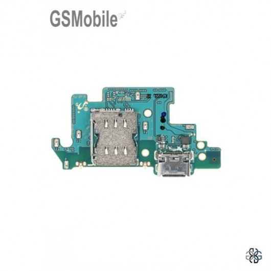 Replacement charging module Samsung A80 - mobile spareparts