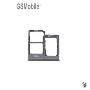 SIM card and MicroSD tray Samsung A40 2019 Galaxy A405F Black Original