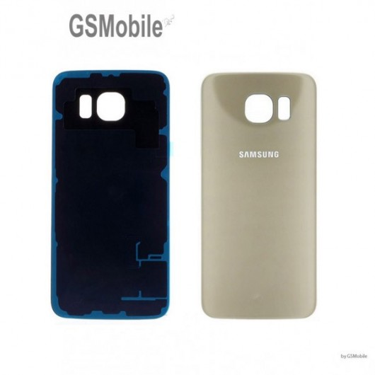 Spare parts for Samsung S6 Galaxy G920F. Battery cover Samsung Galaxy S6