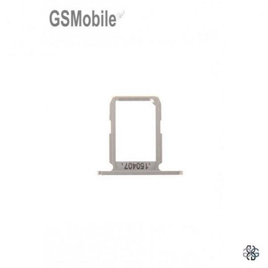 Bandeja do cartão SIM dourada Samsung S6 Galaxy G920F