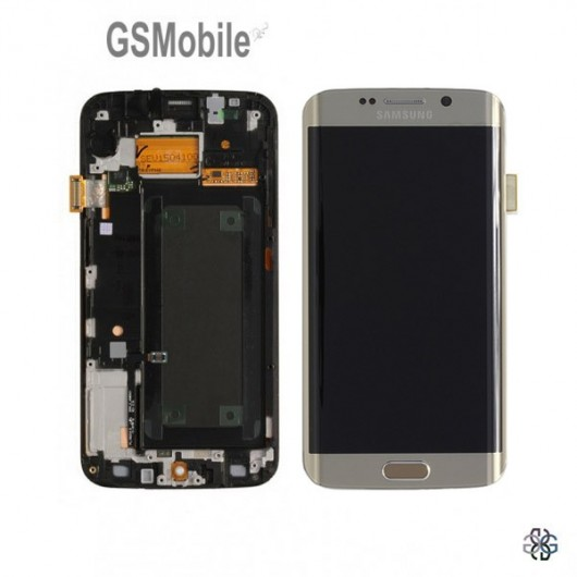 Spare pars for Samsung Glaxy S6 Edge - display for Galaxy G925F