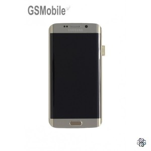 Display for Samsung Galaxy S6 Edge - spare parts for Samsung Galaxy S6 Edge