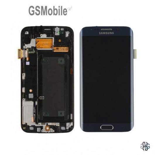 Spare parts for Samsung S6 Edge - Display for Samsung S6 Edge G925F Black