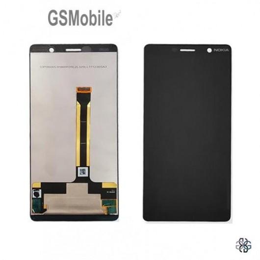 Display for Nokia 7 Plus Black