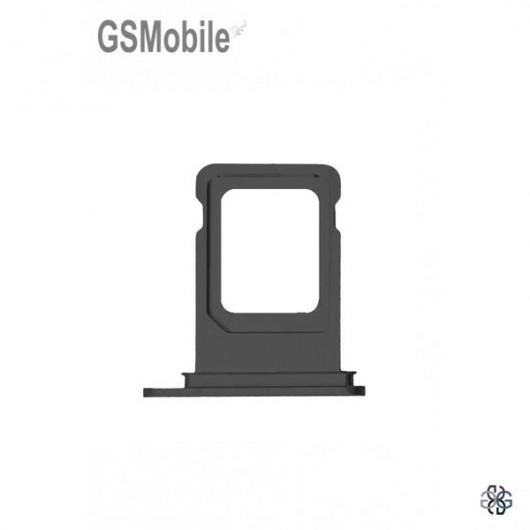 iPhone XR Sim Card tray - black
