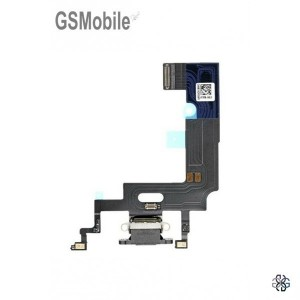 Charging connector flex black for iPhone Xr Original