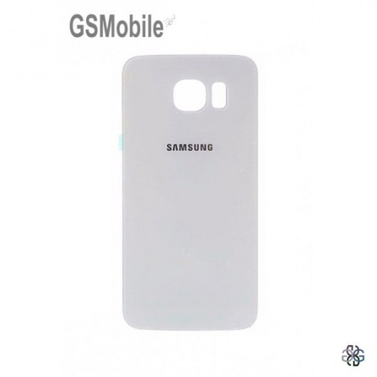 Battery Cover Samsung S6 Edge Galaxy G925F White