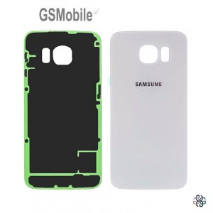 Tampa traseira Samsung S6 Edge Galaxy G925F Branco