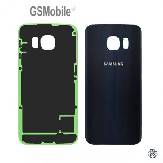 Tampa traseira Samsung S6 Edge Galaxy G925F Preto - peças de reposição