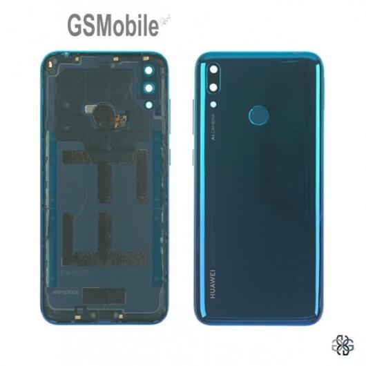 Huawei Y7 2019 battery cover aurora blue - original