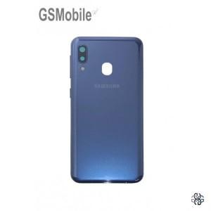 Samsung A20e Galaxy A202F back cover blue - Original