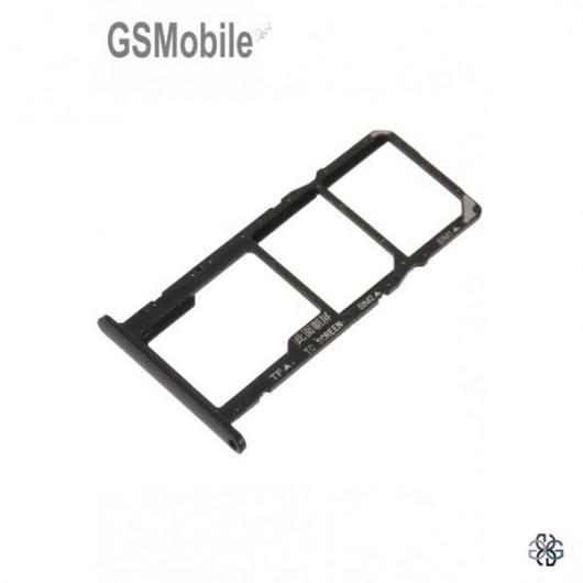 Huawei Y5 2018 SIM card and MicroSD tray black