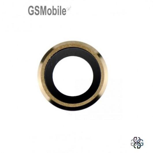 Camera bezel para iphone 6 Dourado - Venda de componentes de substituição para telefones Apple