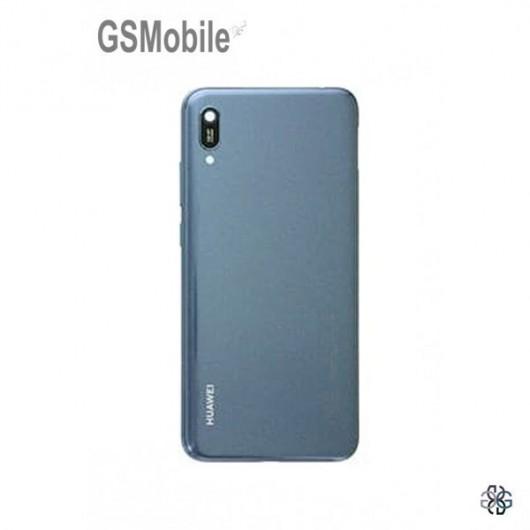 Battery cover Huawei Y6 2019 Blue Original