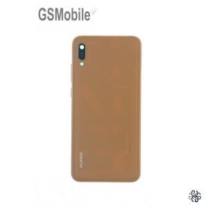 Battery cover Huawei Y6 2019 Brown Original