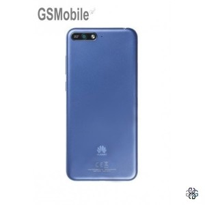 Battery cover Huawei Y6 2018 Blue Original