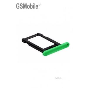 Bandeja do cartão SIM Verde - vendas originais de peças sobressalentes para iPhone