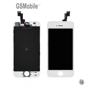 Ecrã - Display LCD Touch iPhone 5S Branco - Componentes de substituição de venda para a Apple