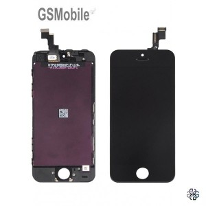 Ecrã - Display LCD Touch iPhone 5S Preto - vendas de peças sobressalentes da Apple