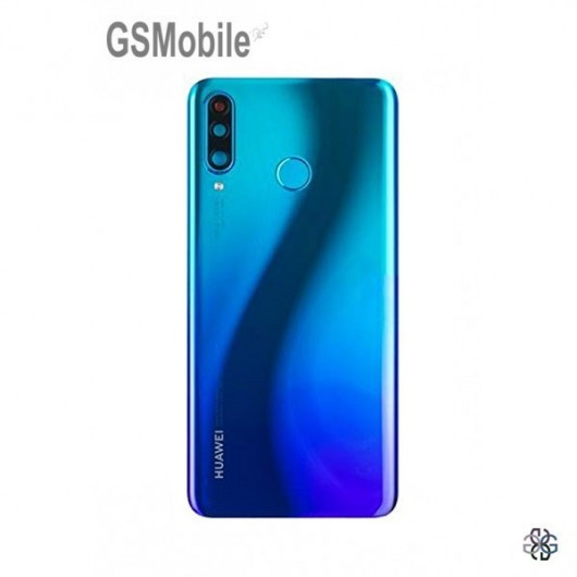 Huawei P30 Lite back cover Blue Original