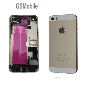 Chassis para iPhone 5S Dourado - vendas de peças sobressalentes da Apple