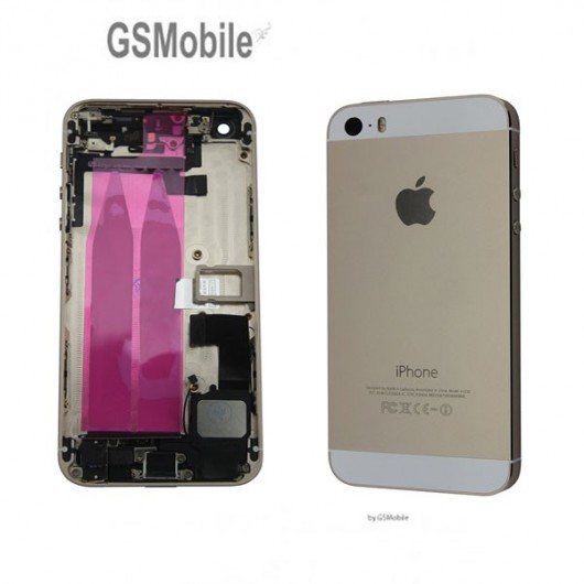 Chassis for iPhone 5 Gold - sales of apple spare parts