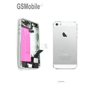 Chassis para iPhone 5S Prata - vendas de peças sobressalentes da Apple