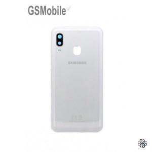 Samsung A20e Galaxy A202F back cover white - Original