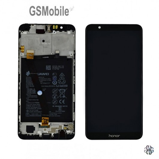 Full LCD Display Huawei Honor 7X Black Original