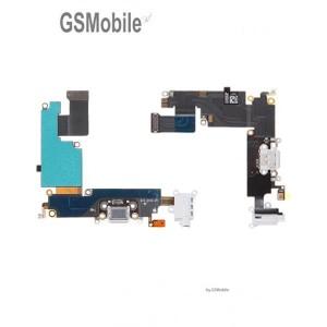 Flex Conector de Carga iPhone 6 Plus Blanco - Vendas de peças sobressalentes em Portugal