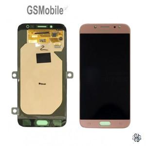 Display Samsung J7 2017 Galaxy J730F Pink - Original