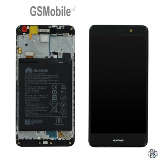 Display for Huawei Y7 2017 Black Original