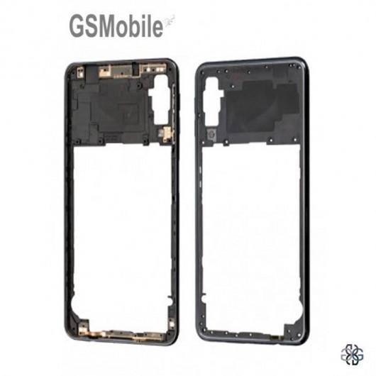 Samsung A7 2018 Galaxy A750F Middle cover Black - Original