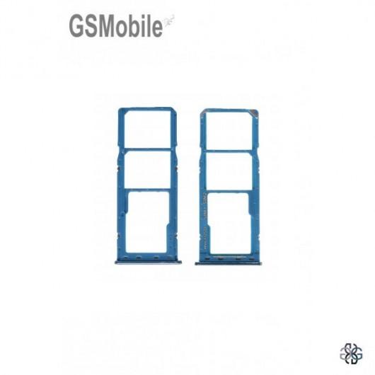 SIM card and MicroSD tray Samsung A30 2019 Galaxy A305F Original Blue