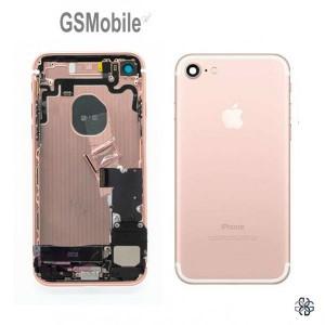 chassis completo para iphone 7G Rosa - Peças Originais para iPhone