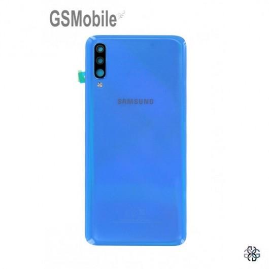 Samsung A70 2019 Galaxy A705F back cover blue - Original
