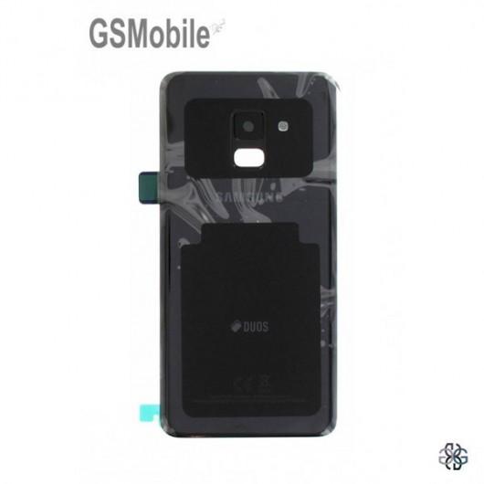 Samsung A8 2018 Galaxy A530F Back cover Black - Original