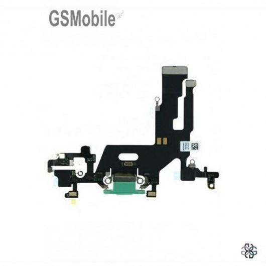 iPhone 11 Charging connector flex green original
