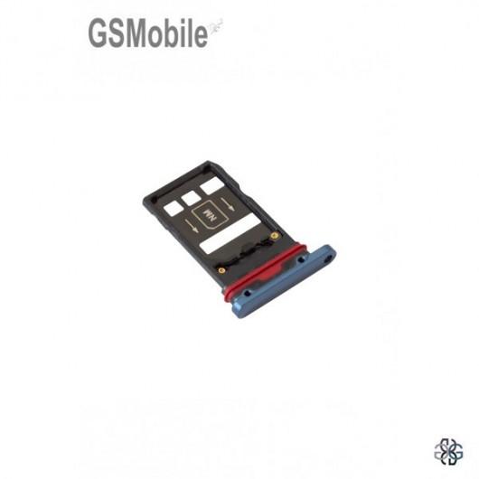 Huawei Mate 20 Pro SIM and MicroSD tray blue original