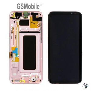 Display for Samsung S8 Galaxy G950F Pink - Original